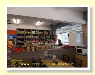 Shop on the way from Pattaya to Bangkok Airport