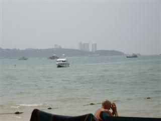 Pattaya tourist saying a prayer