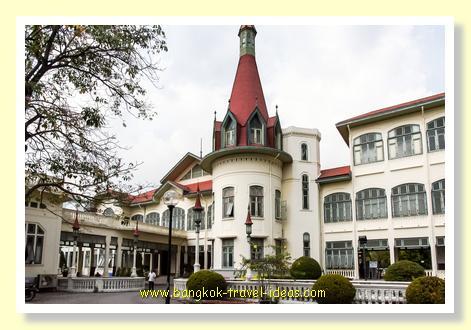 Phiman Chakri Hall at Phaya Thai Palace Bangkok