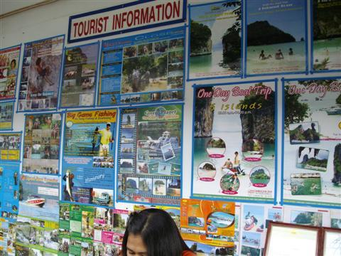 Tours can be organised all around Ao Nang and Phi Phi Island, but be prepared to  use your bargaining skills