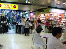 There is a twist and turn around every corner in the Platinum Fashion Mall