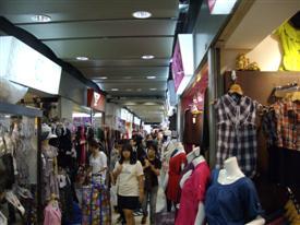 Platinum Mall bargain shopping in Bangkok