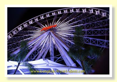 Asiatique Ferris wheel in Bangkok