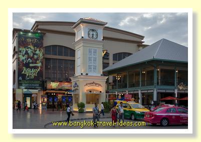 Bangkok Asiatique nightmarket in Bangkok