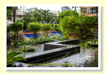 Gardens at the Ramada Bangkok
