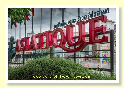 Entrance to Asiatique the Riverfront