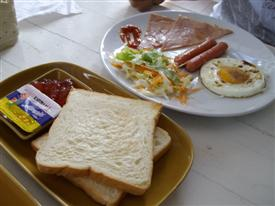 The Regent Suvarnabhumi Hotel breakfast offering