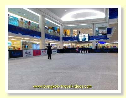 Ice rink at Seacon Square