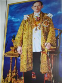 Paint of the King of Thailand