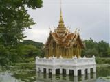 Suan Luang water feature on the lake