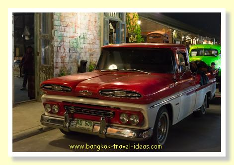 Renovated Bangkok Chevrolet truck