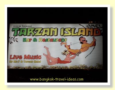 Tarzan Island Restaurant and Cabins in Bailan, Koh Chang