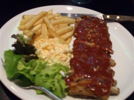 Tenderloins spare ribs on Soi 33