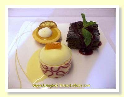 Desserts on Thai Airways flights