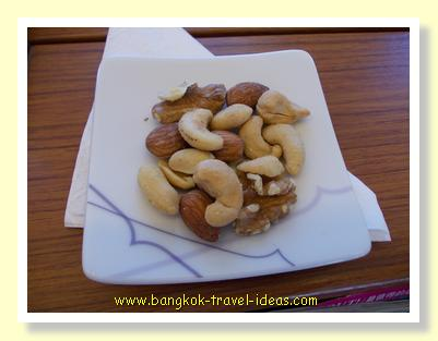 Hot nuts on Thai Airways