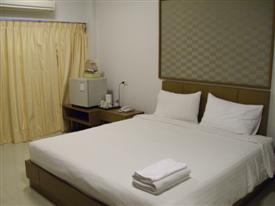 A standard room at the Ivory Suvarnabhumi Hotel