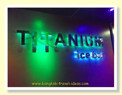 Titanium Ice bar for some great Bangkok nightlife