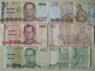 Thai Baht for travel money