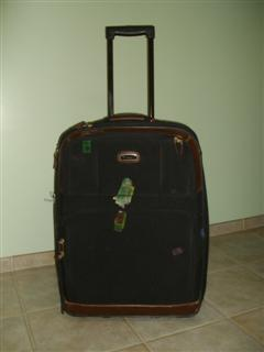 A picture of my lost baggage, never to be seen again