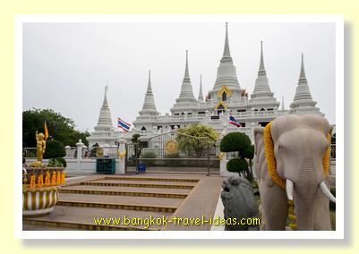 Wat Asokaram near to Bangkok Airport