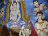 Wat Bang Phli Yai Klang murals