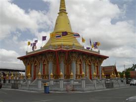 Inside the grounds at Wat Bang Phli Yai Nai