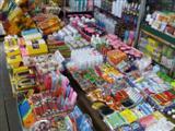 Bangkok street market stall
