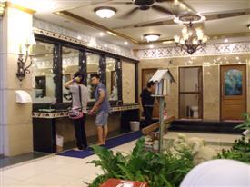 5 million Baht toilets interior