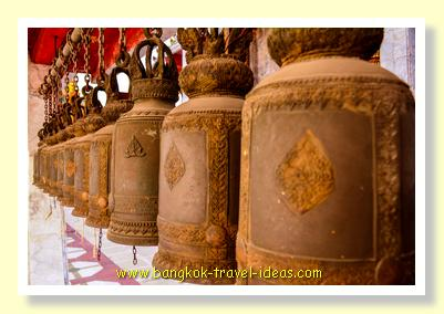 Bells at Wat Hua Lamphong