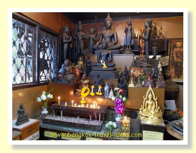 Buddha images in Wat Pasi