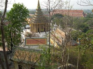 A different perspective on the buddhist temple buildings