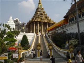 Wat Phra Phutthabat grand staircase