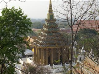 A view of the surroundings of Wat Phra Phutthabat