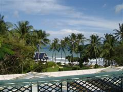 View of the ocean from Centara Grand Samui hotel room