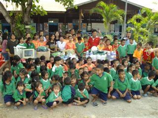 Rong Rian Wat Nong Koo school photograph