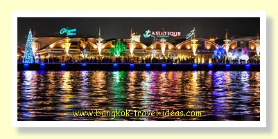 Asiatique the Riverfront from the river