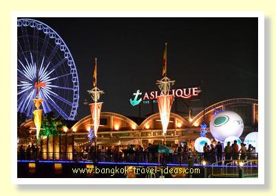 Ferris wheel at Asiatique the Riverfront