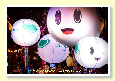 Ballons at Asiatique the Riverfront