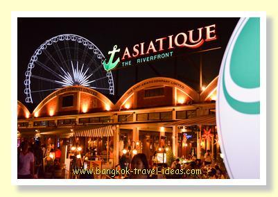 Bangkok Riverside Asiatique market