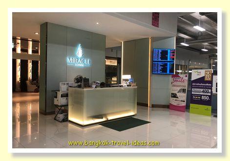 Miracle Lounge for sleeping in Bangkok Airport