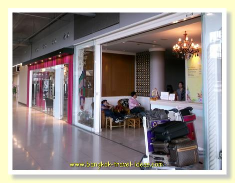 Chang Massage on the landside of Suvarnabhumi Airport