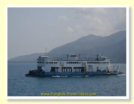 Koh Chang ferry to some of the best Bangkok beaches in Thailand