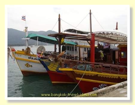 Koh Chang fishing trawlers