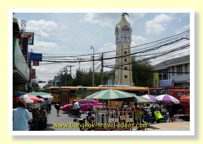Nonthaburi town near the ferry pier