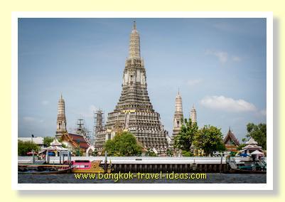 Bangkok tourist attraction of Wat Arun