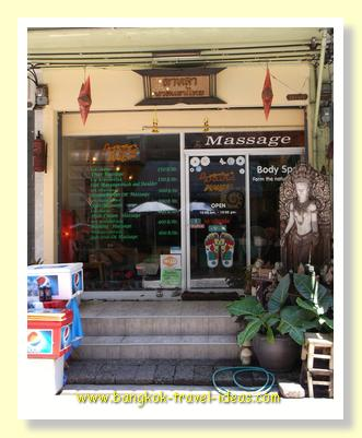 Cheapest massage in Bangkok at On Nuch