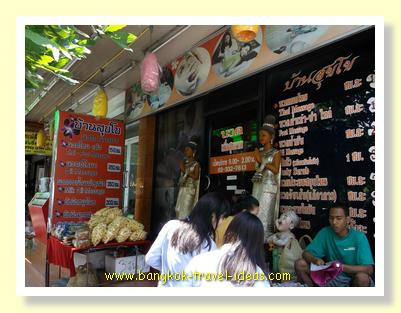 Massage shop in Bangkok