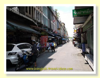 If you are looking for the cheapest price for a Thai massage then go down this Soi at On Nuch