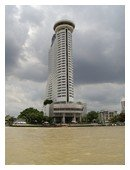 Hilton Hotel is one of the great Bangkok hotels on the Chaophraya River