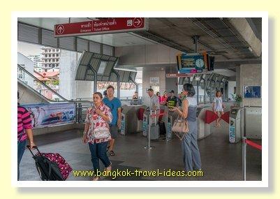 Bangkok Airport rail link station